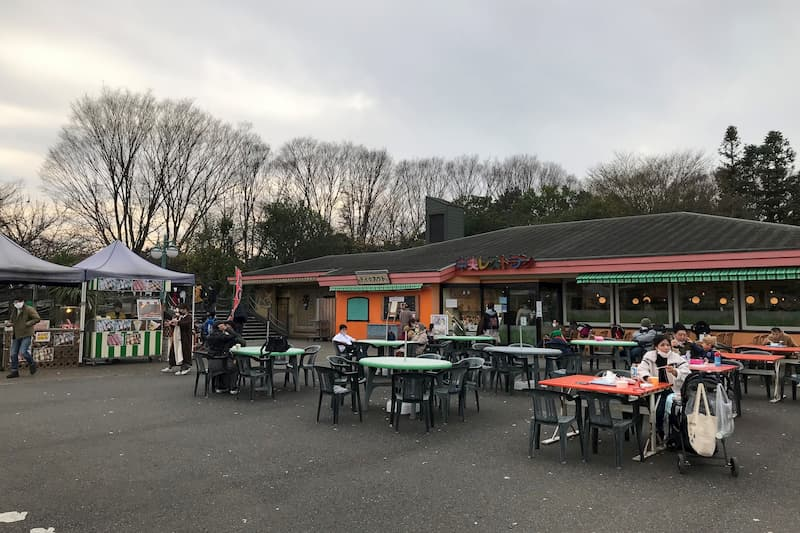 東武動物公園レストラン